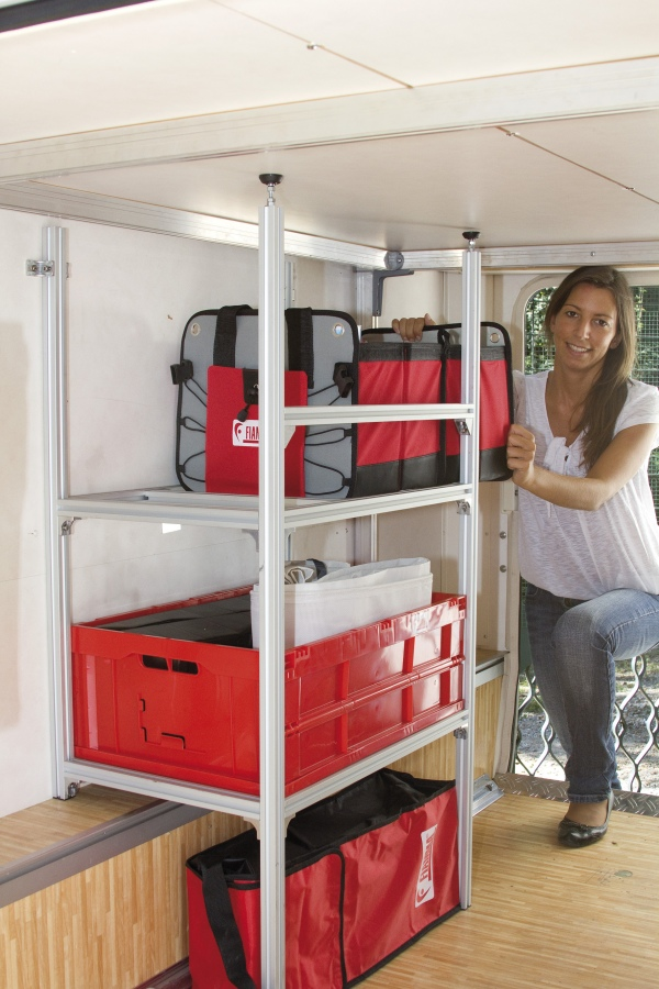 Good Calendar Ideas : Fiamma garage racking system storage boxes for